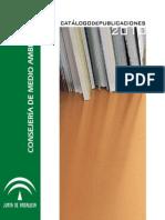 Catalogo_2010 Publicaciones de La Consejería de Medioambiente
