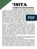 VISITA AL INMACULADO CORAZÓN DE MARÍA