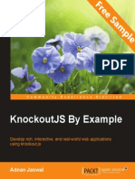 KnockoutJS by Example - Sample Chapter