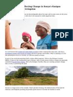How Women Are Effecting Change in Kenya's Kasigau Corridor|Geoff Livingston