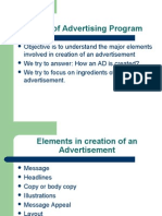 Building Advertising Program-message