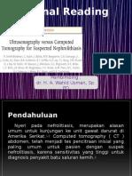 USG vs CT for Suspect Nephrolithiasis