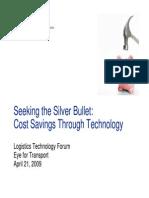 Prezentare - Cost Saving Through Technology