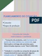 Planejamento de Coleção - Conceitos