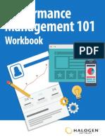Performance Management 101 Workbook