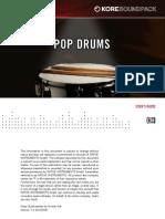 Pop Drums - Manual English