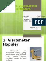 Jenis Jenis Viskometer Fix