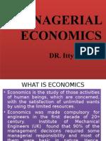 (1)managerial economis