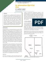 2013 06 CJEG Estimating Seismic Attenuation
