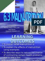 6.3 - Malnutrition