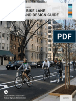 Bike Lane Design Guide FHA