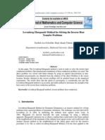 Levenberg-Marquardt Method for Solv