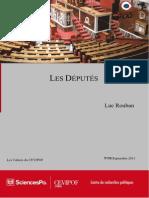 Sociologie Politique Des Députés, 1958-2007