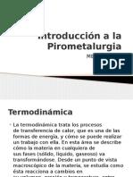 Clase 1Introducción a La Pirometalurgia
