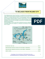 How to Get to Bellagio From Milano City