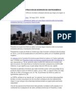 Panamá inversiones en Centroamérica.