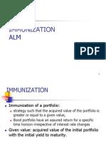Lecture 5 - Bond Portfolio Management - IRRM - Immunization and ALM