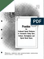 AGMA 420 04 Enclosed speed reducers.PDF