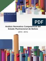 Análisis Normativo Competencial 2010-2014