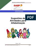 Atividades de Alfabetizacao 2014