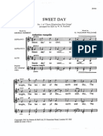 Vaughan Williams. - Sweet Day - No1 of Three Elizabethan Part-Song (SSA)