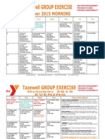 Tazewell October 2015 Group Exercise