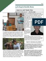 Mexico Newsletter 2015 - September