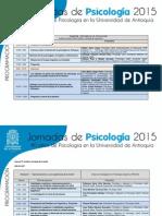 Programación Jornadas de Psciología U de a 1 y 2 de Octubre de 2015 (1)