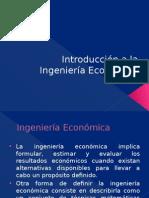 Introducción a La Ingeniería Económica