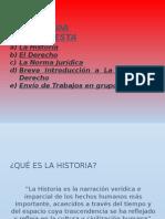 Historia Del Derecho Paralelo A