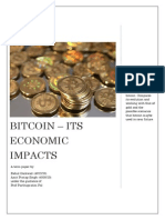 Bitcoin - Economic Impacts and Overview