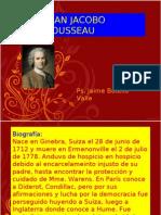 Juan Jacobo Rousseau. Ps. Jaime Botello Valle