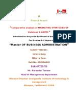 airtel and vodafone marketing analysis