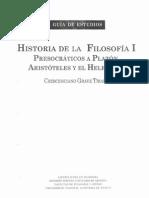 História de La Filosofía - Guía