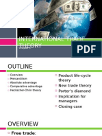 International Trade Theory Final.