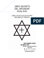 Libro Secreto Del Arcanum (the Holy Arc)