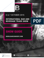 Bar Convent Berlin 2015 Show Guide