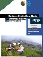 PT. Freeport Business Ethics Case