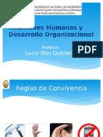 Relaciones Humanas y Desarrollo Organizacional.