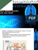 Presentasi Biokimia Sistem Respirasi