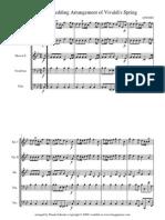 Vivaldi Spring Score