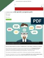6 Sitios Web Donde Aprender a Programar Gratis - BBC Mundo