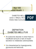 6685869 Diabetes Mellitus