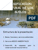 CLASIFICACION NATURAL DE LOS SUELOS