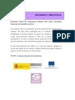 INE_Encuesta de Estructura Salarial 2013