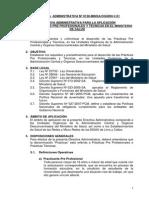 Directiva Pracsticas Pre Profesionales
