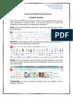 Elaboracion de Presentaciones Electronicas