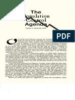 The Population Control Agenda