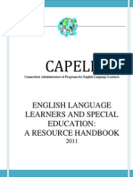 capell sped resource guide