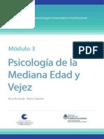 Cambios psicosociales vejez. Gobierno Argentina